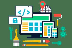 webbutveckling byrå i Stockholm ikon med webbkod