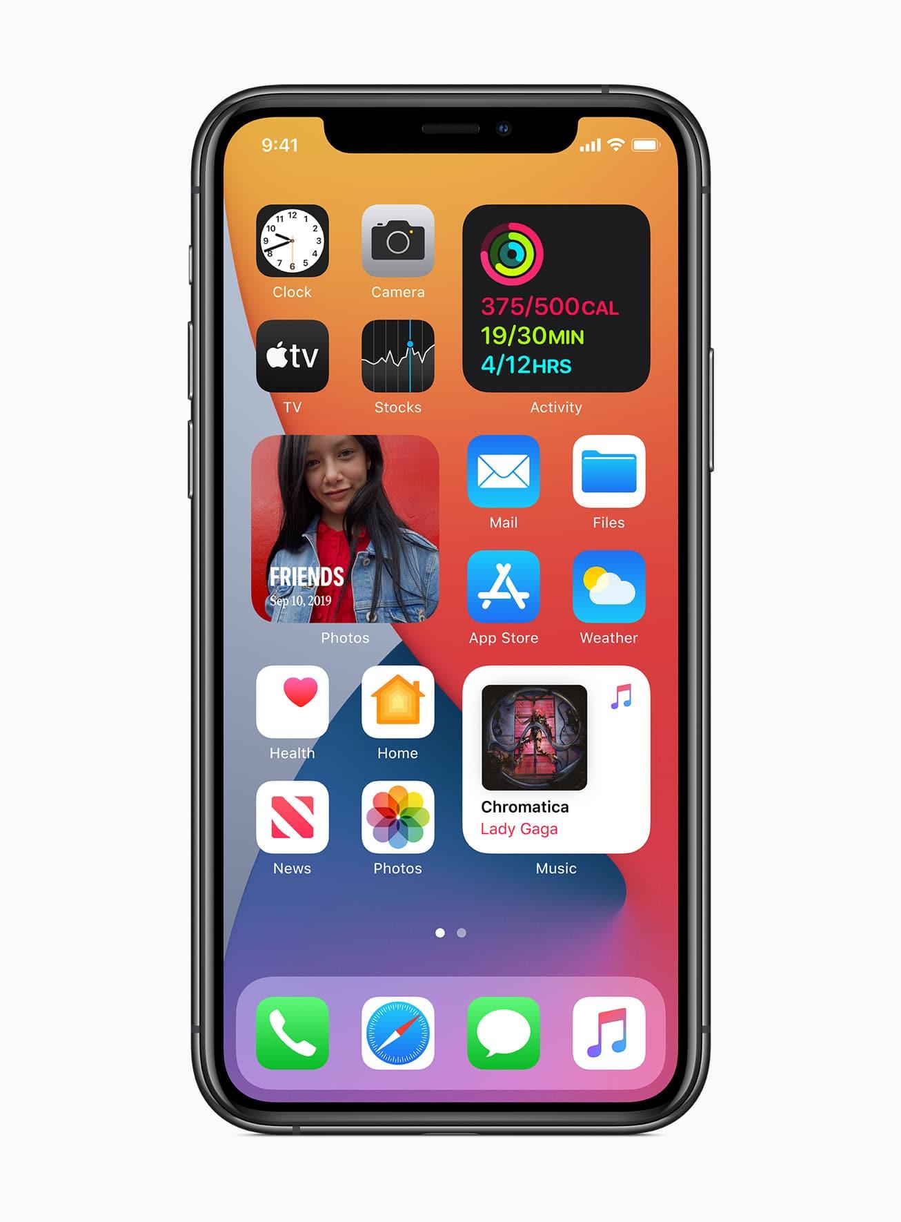 ios mobile phone screen
